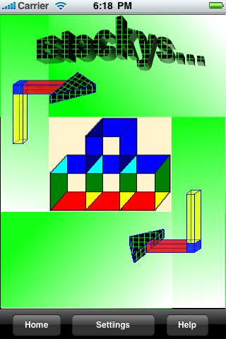 Screenshot Blockys 3D Puzzle