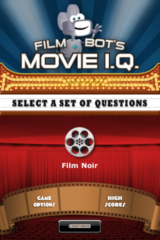 Screenshot Film Noir – Film Bot's Movie I.Q. (FREE)