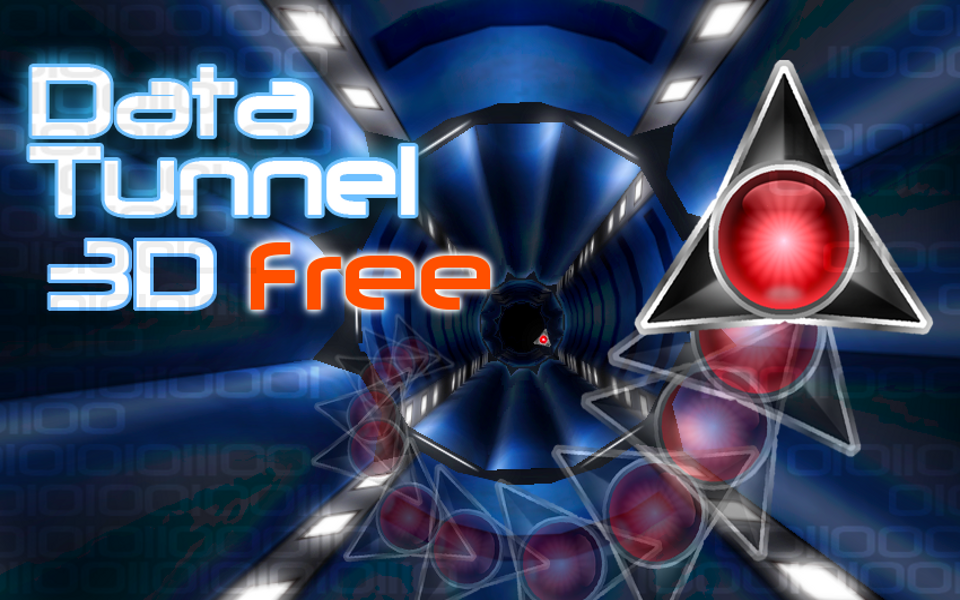 Screenshot Data Tunnel 3d Free